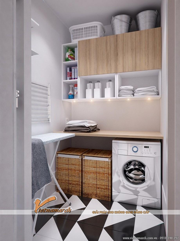 Truyền thống và hiện đại luôn được kết hợp hài hòa - Thiết kế nội thất chung cư Đông Đô.