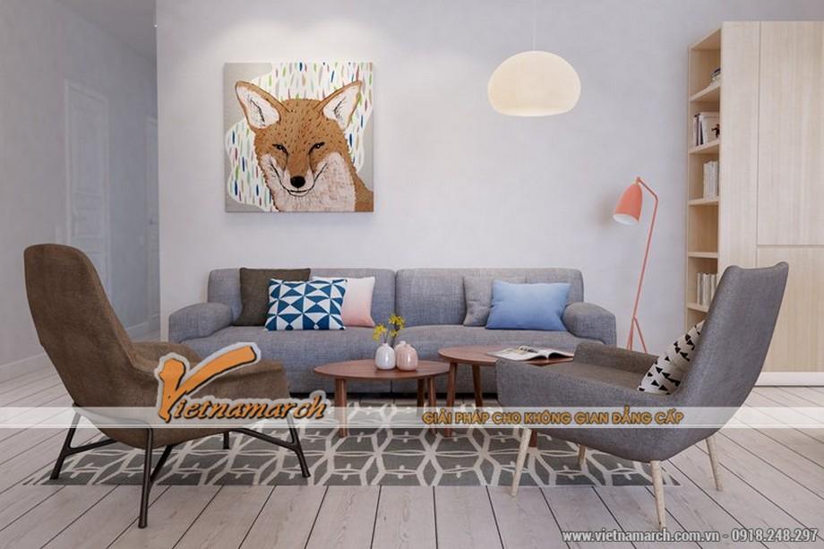 Phòng khách với màu sắc nhẹ, thiết kế đơn giản hướng tới sự thoải mái chính là phong cách của người Nhật