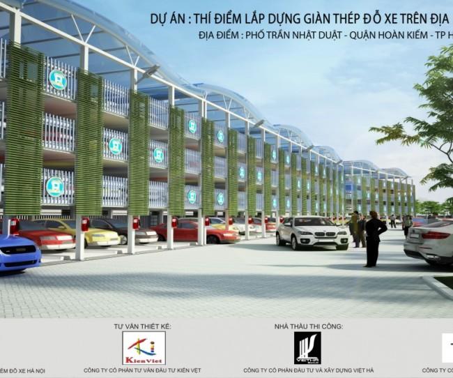 Kiến Việt nói về bãi đỗ xe thông minh cao tầng Trần Nhật Duật