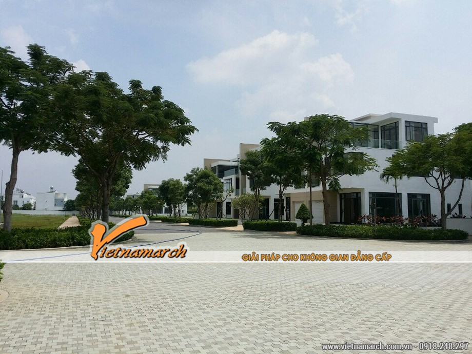 Vietnamarch tư vấn thiết kế kiến trúc biệt thự Lucasta 01