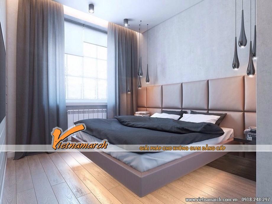 Phòng ngủ master thiết kế nội thất hiện đại
