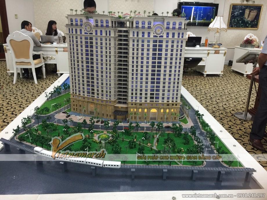 Vietnamarch tham gia tư vấn thiết kế nội thất cho khách hàng chọn mua căn hộ chung cư D'.Le Pont D'or Hoàng Cầu 04