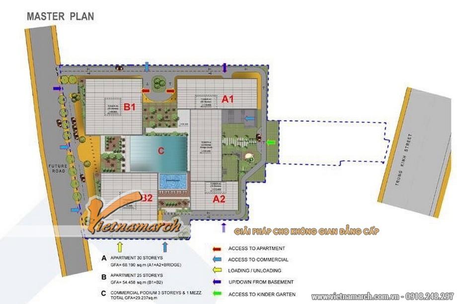 Tư vấn, lên phương án thiết kế nội thất chung cư Trung Kính Complex - Home City
