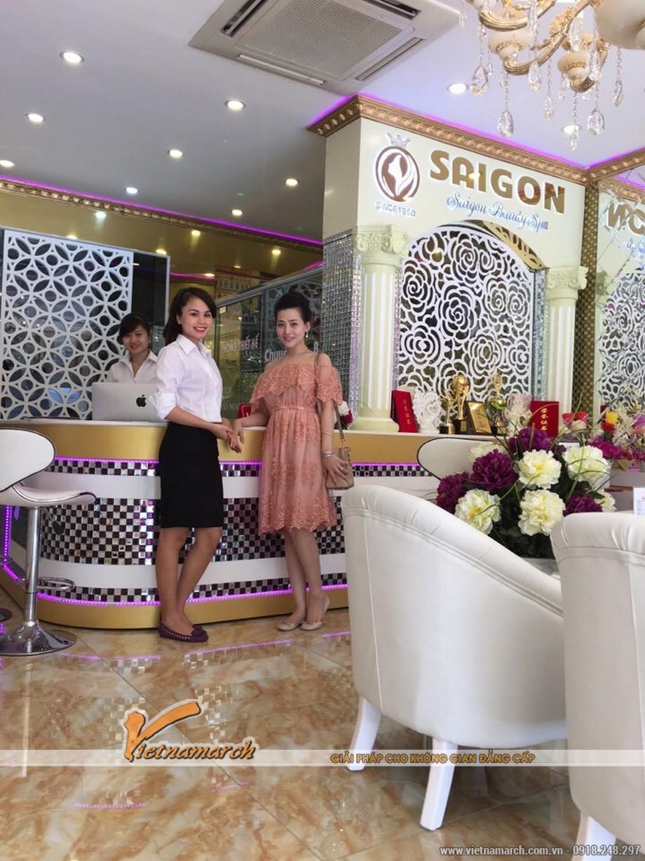 Vietnamarch đơn vị tư vấn thiết kế nội thất cho spa Sai Gon Beauty