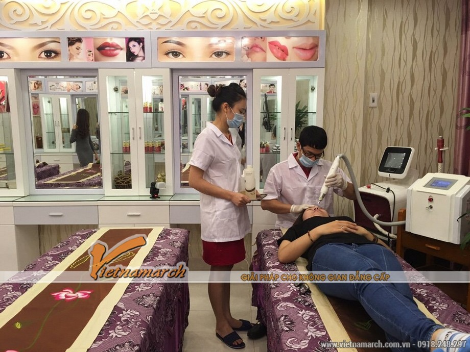 Vietnamarch tư vấn thiết kế nội thất Spa Saigon Beauty