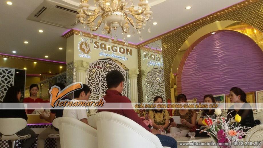 Vietnamarch tư vấn thiết kế, thi công spa thẩm mĩ Saigon Beauty