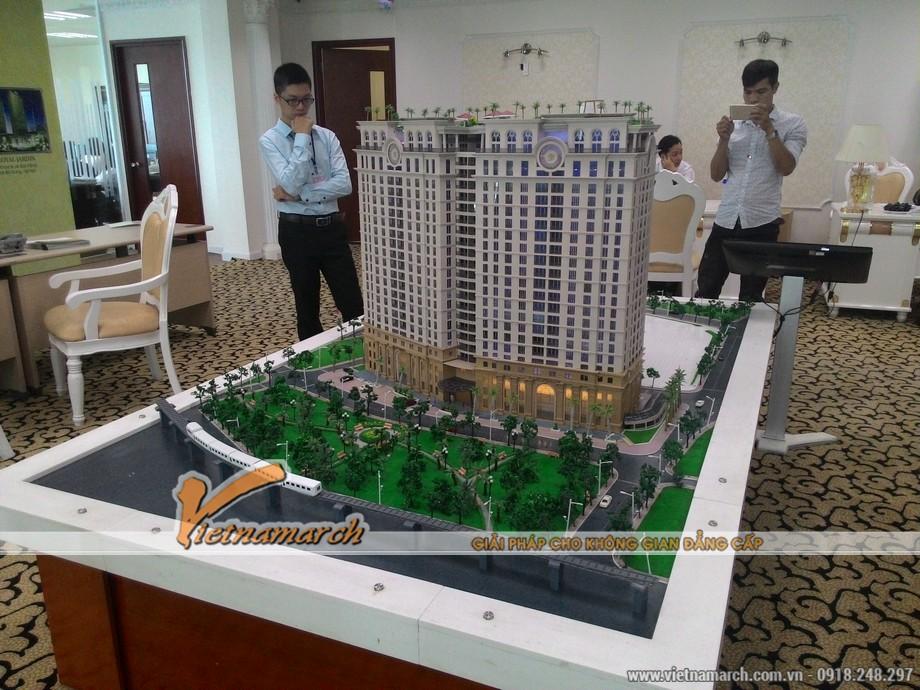Vietnamarch tham gia tư vấn thiết kế nội thất cho khách hàng chọn mua căn hộ chung cư D'.Le Pont D'or Hoàng Cầu