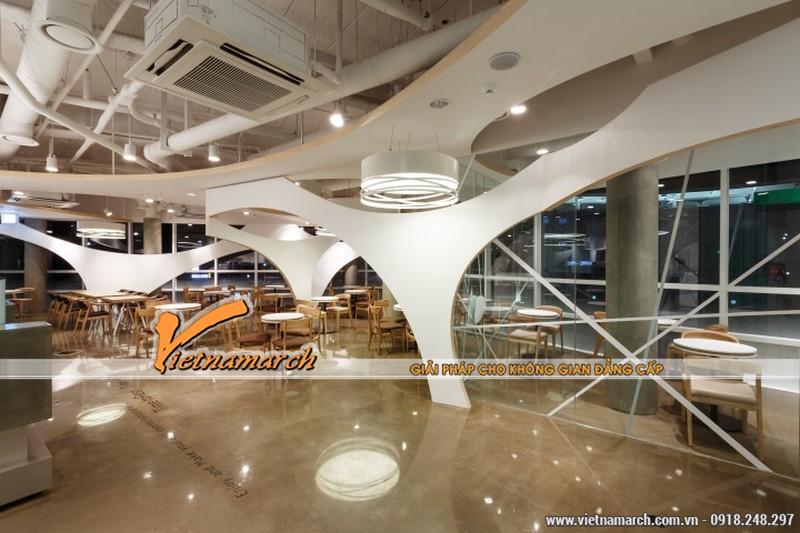 Ý tưởng thiết kế quán cafe vô cùng độc đáo