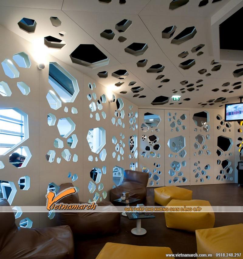Cách thiết kế quán cafe độc đáo và thống nhất ở mọi không gian