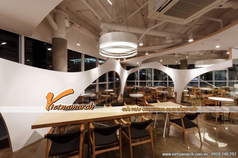 Ý tưởng thiết kế quán cà phê của vô cùng độc đáo của Jang Sung Jin