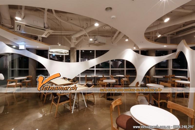 Vietnamarch giới thiệu 2 ý tưởng thiết kế quán cà phê đẹp và độc