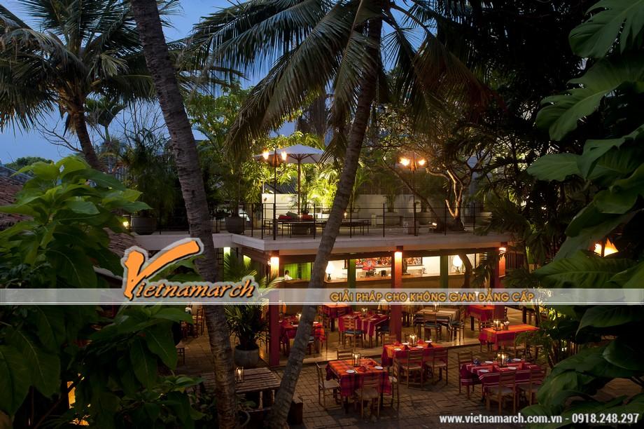 5 ý tưởng thiết kế quán cà phê sân vườn đẳng cấp