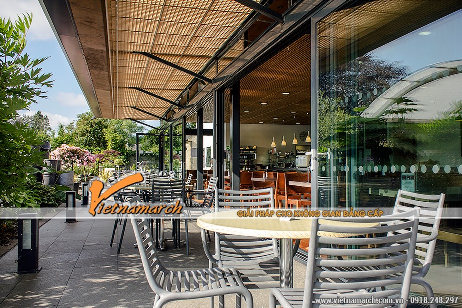Thiết kế nội thất quán cà phê - lựa chọn những mẫu bàn ghế ấn tượng