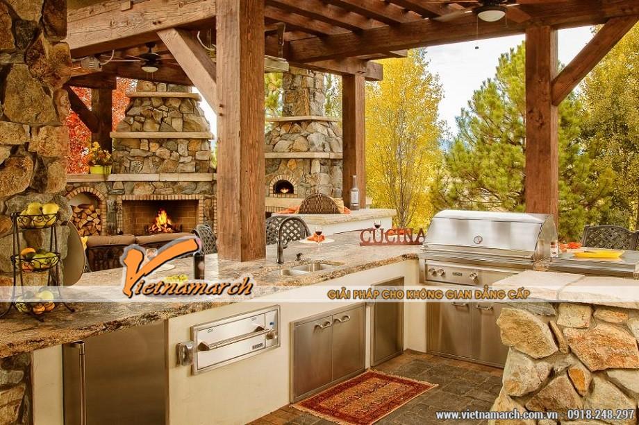 Ngắm những thiết kế nhà bếp ngoài trời tuyệt đẹp