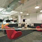 Thiết kế văn phòng làm việc hiện đại cho công ty phần mềm