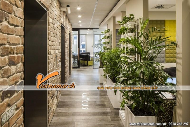 Mang không gian xanh tới văn phòng với những thiết kế khéo léo