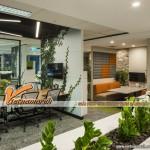 """""""Ý tưởng xanh"""" trong thiết kế nội thất văn phòng"""