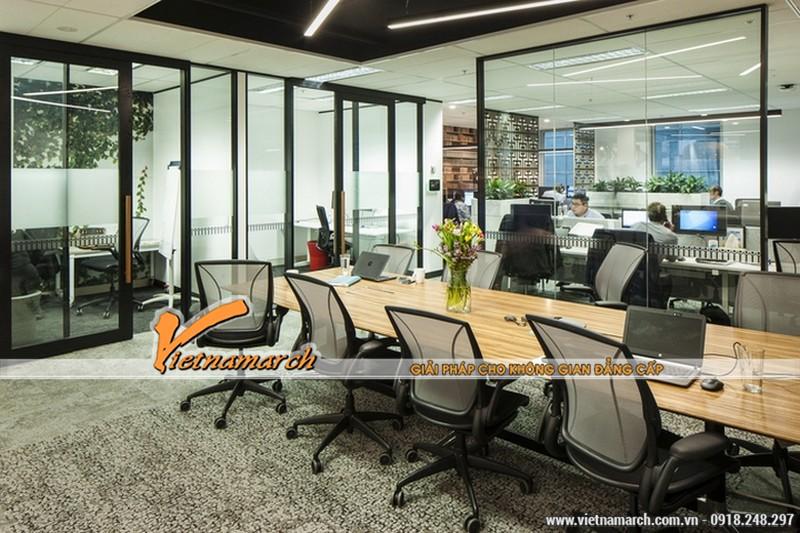 Ý tưởng xanh vào trong thiết kế nội thất văn phòng - khu vực làm việc chung