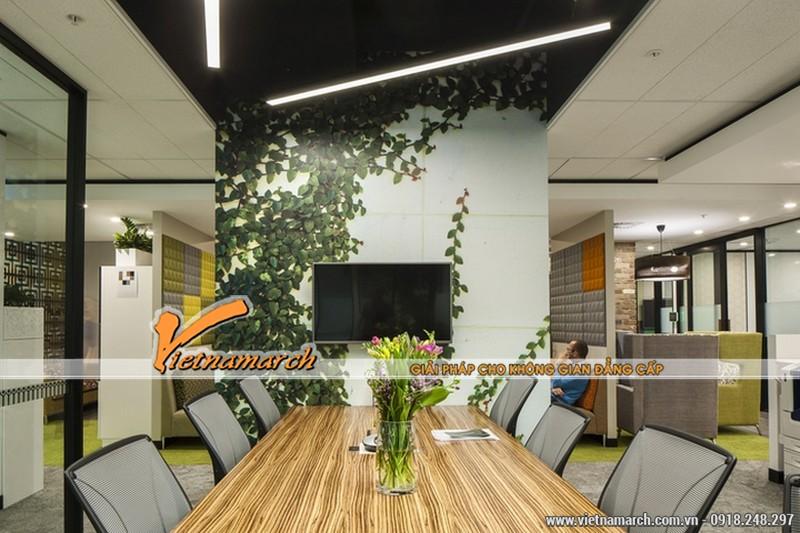 Ý tưởng thiết kế nội thất văn phòng đẹp với nhiều không gian xanh