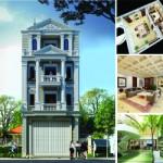 Hồ sơ thiết kế kiến trúc nhà mặt phố 4 tầng cho nhà anh Phong – Hải Dương