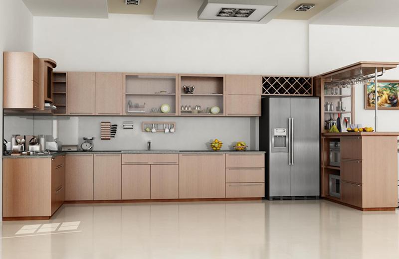 Không nên đặt bếp sát phòng ngủ - Thiết kế nhà bếp hợp phong thủy