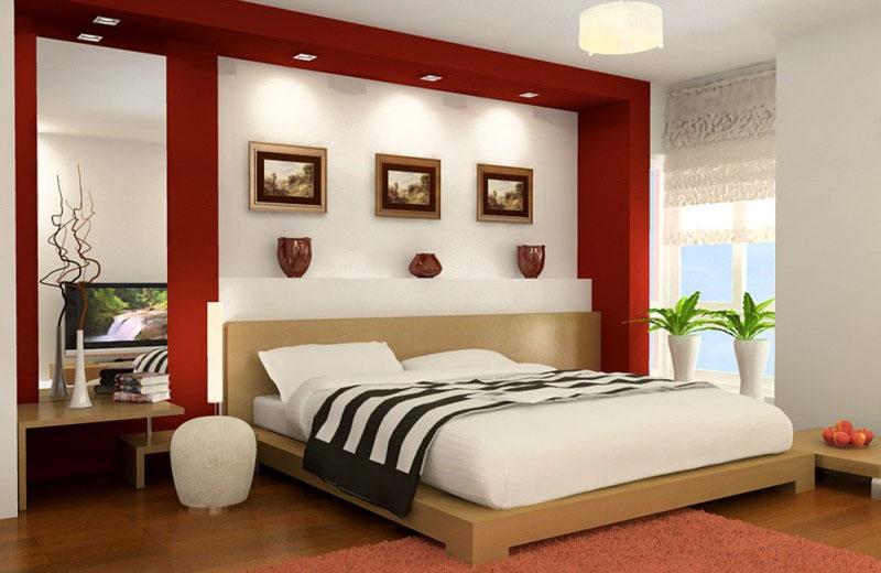 Vị trí phòng ngủ trong nhà và vị trí giường ngủ trong phòng ngủ nên ưu tiên ở hướng tốt.