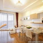 Thiết kế nội thất chung cư Times City, căn hộ T10.12.18 nhà cô Thuật