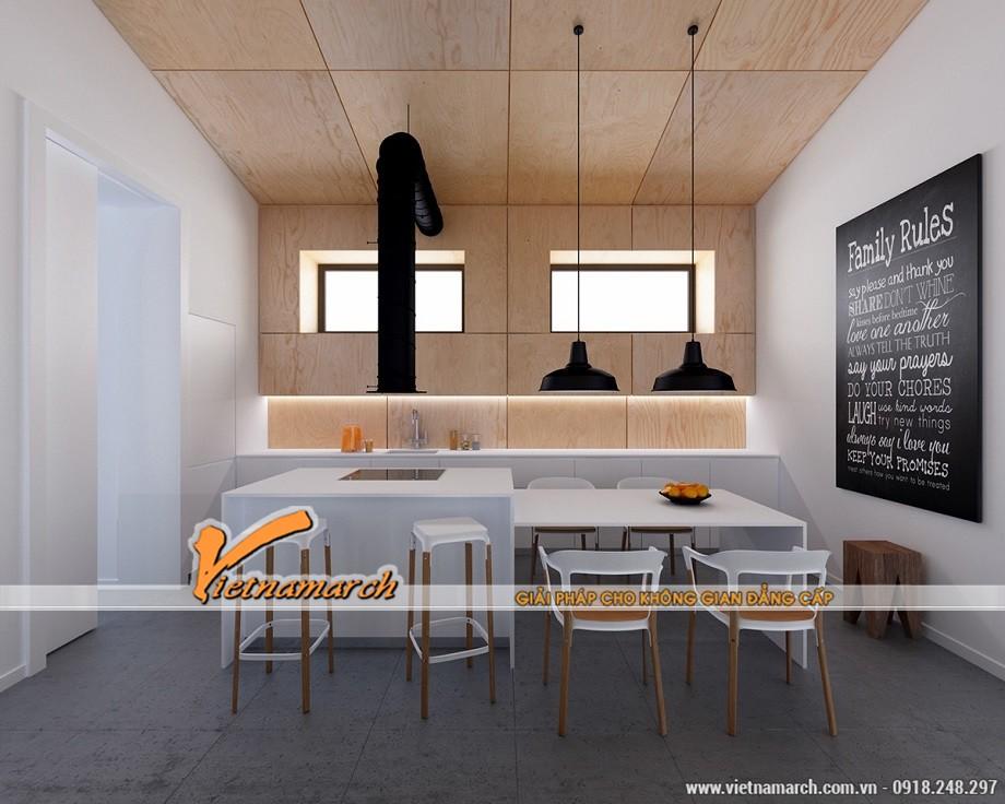 3 ý tưởng thiết kế nhà bếp sử dụng gỗ và tông màu trắng