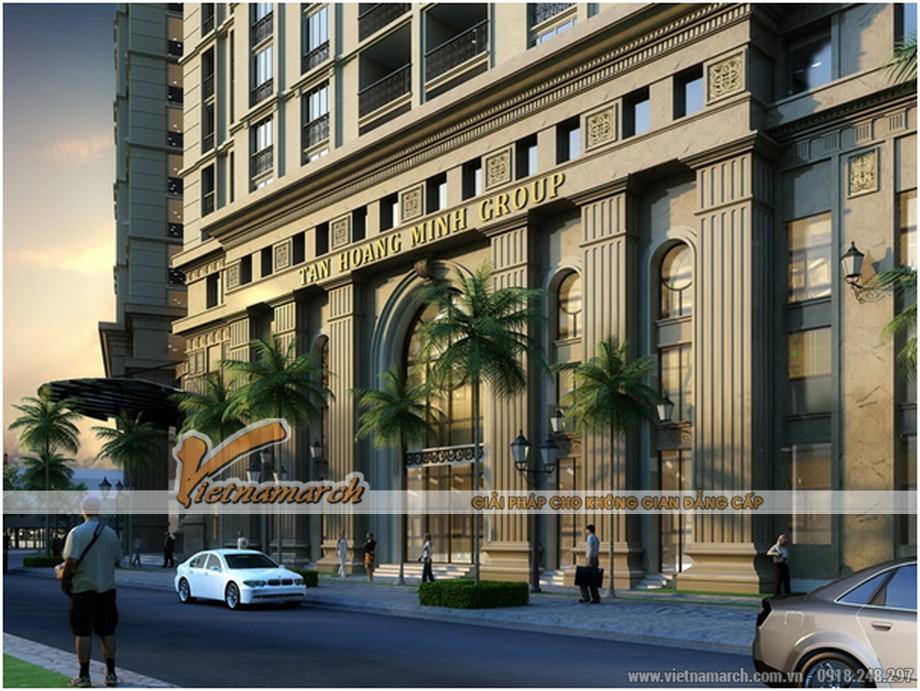 Kiến trúc sang trọng lịch lãm chung cư D'. LE PONT D' OR Hoàng Cầu - Tân Hoàng Minh