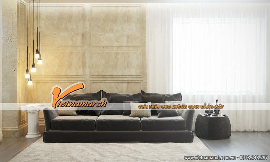 Màu sắc và thiết kế nội thất mang đậm hơi hướng tân cổ điển