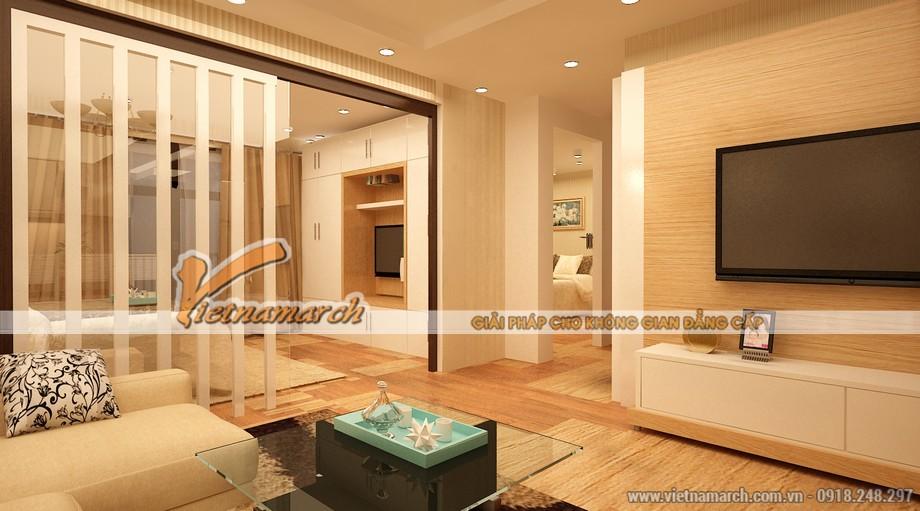Thiết kế nội thất chung cư Park Hill - Nội thất phòng khách hiện đại