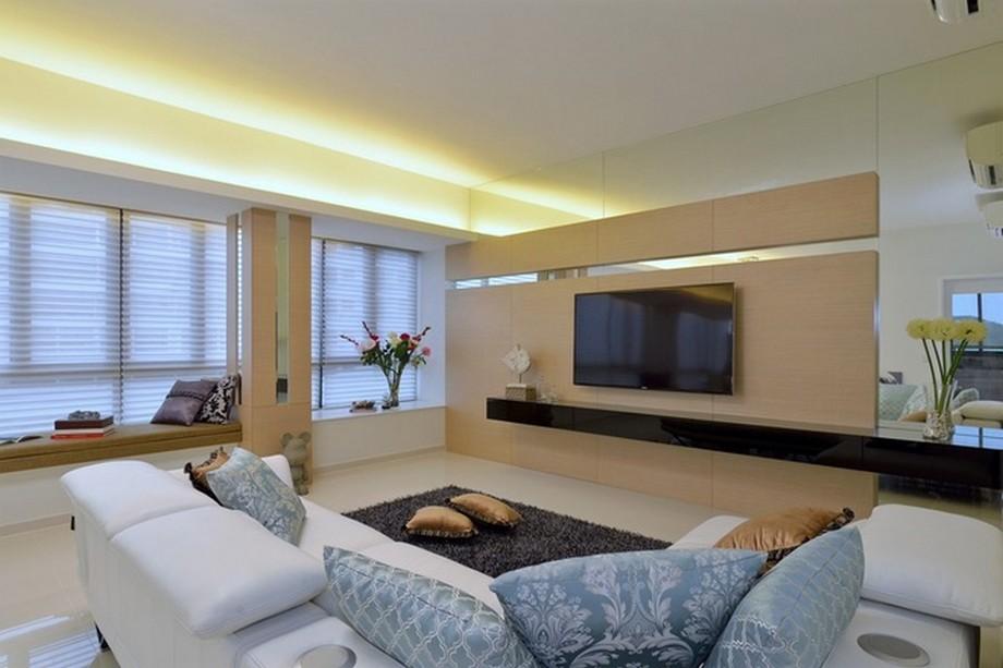Thiết kế nội thất thông minh bài trí hợp lý sao cho căn phòng thoáng đãng và rộng rãi nhất