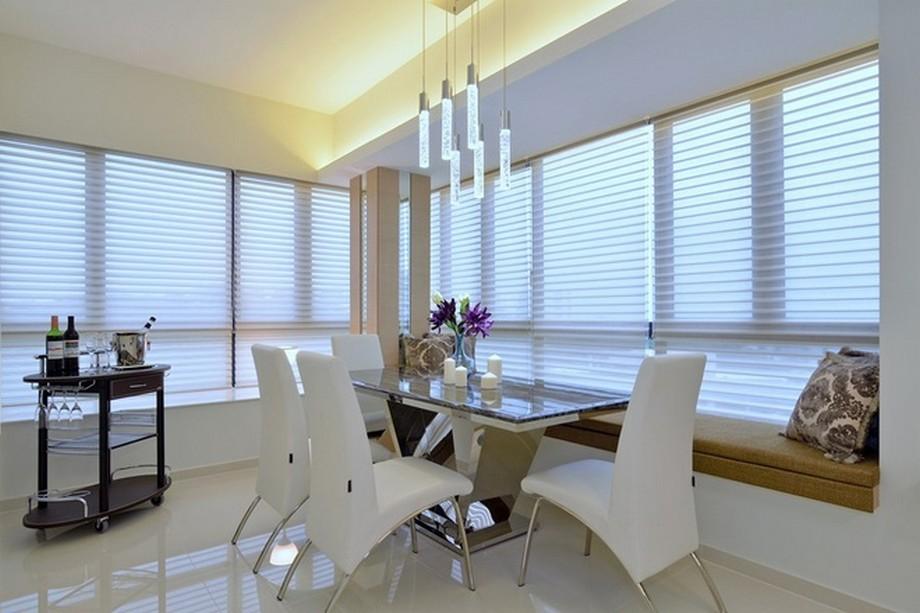 Thiết kế nội thất phòng ăn hiện đại và tinh tế