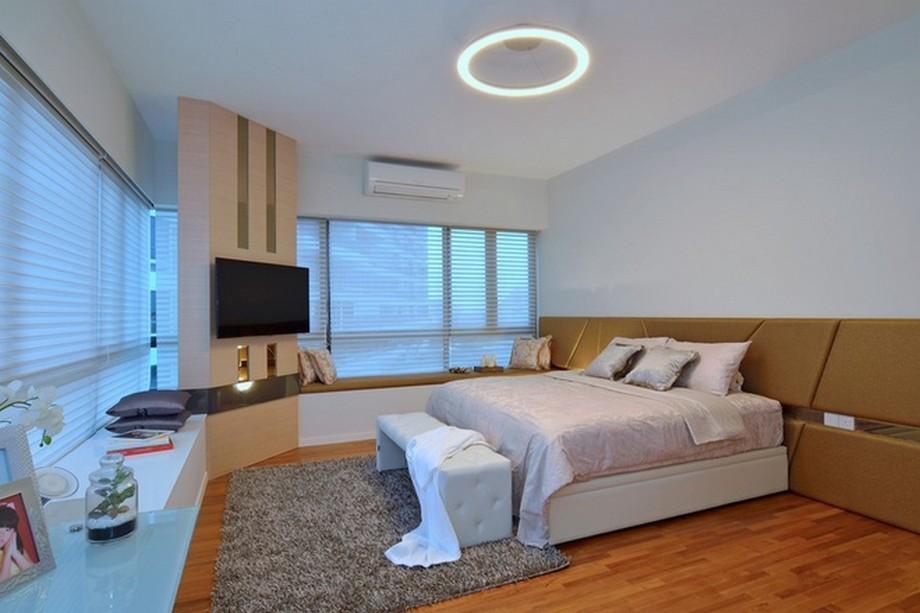 Thiết kế nội thất phòng ngủ hiện đại và tiên nghi