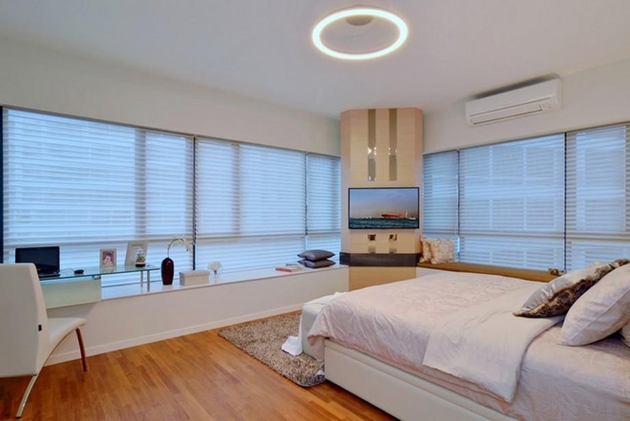 Thiết kế nội thất độc đáo trong phòng ngủ