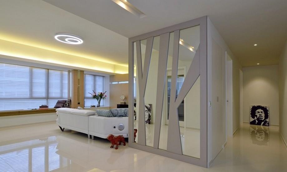 Căn hộ rộng rãi với thiết kế nội thất hiện đại