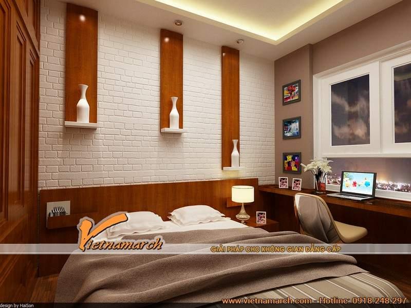 Thiết kế nội thất chung cư nhẹ nhàng với sự cân bằng giữa sáng - tối, đậm - nhạt