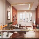 Mẫu thiết kế nội thất đẹp tại chung cư Golden Land nhà Chị Hạnh