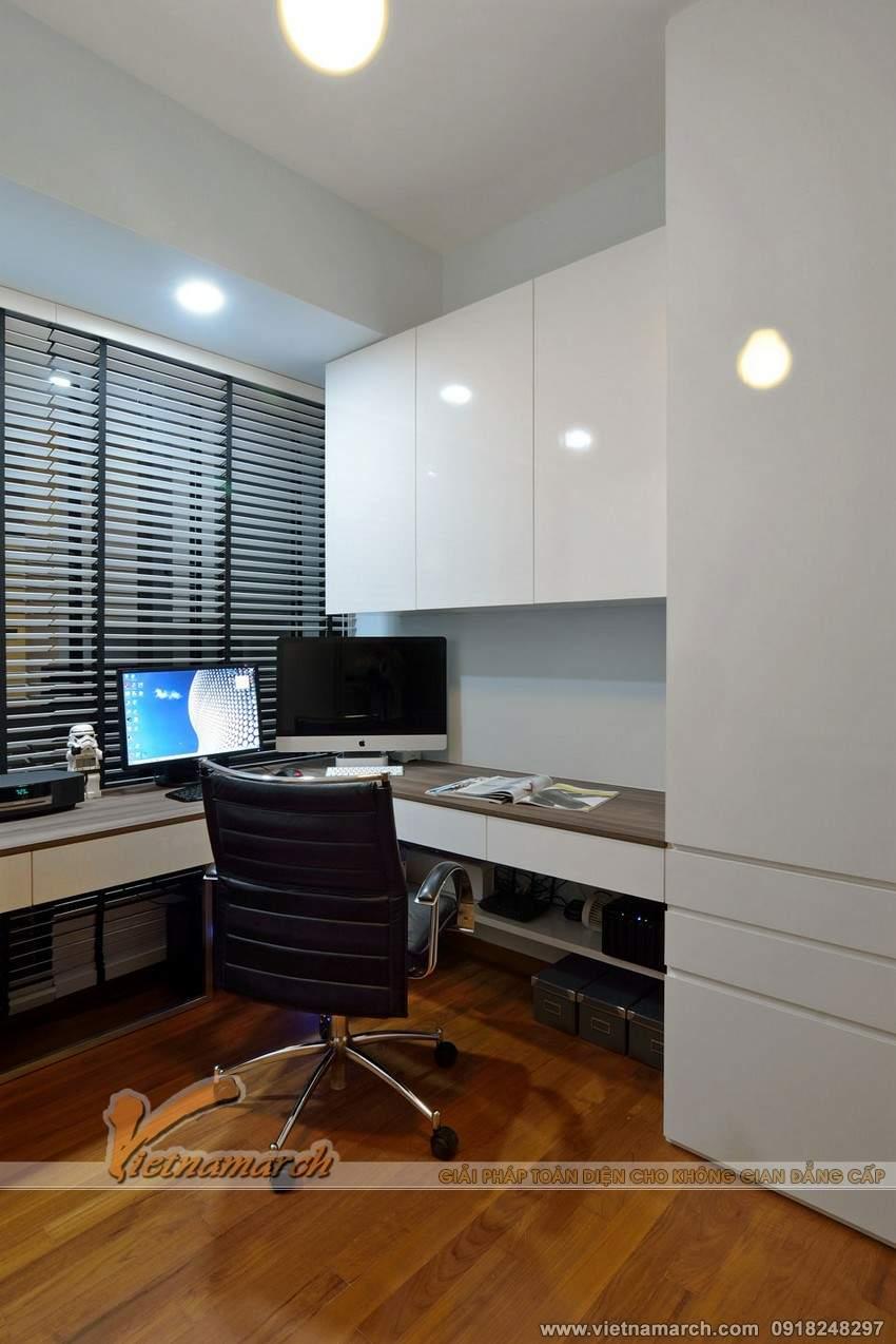 Phòng làm việc được thiết kế hiện đại - Phương án thiet ke noi that chung cu park hill