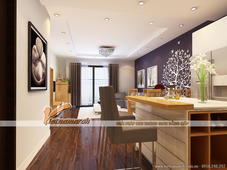 Phòng bếp thiết kế hiện đại và tiện nghi - Thiet ke noi that chung cu Park Hill
