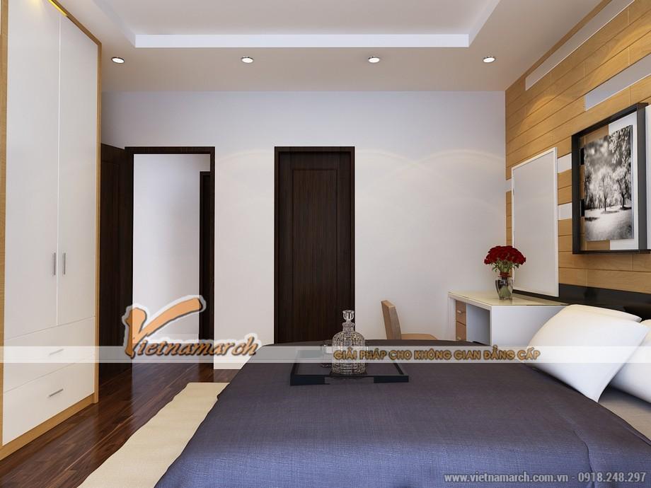 Phòng ngủ hợp phong thủy và đầy đủ đồ đạc - Mẫu nội thất chung cư Park Hill