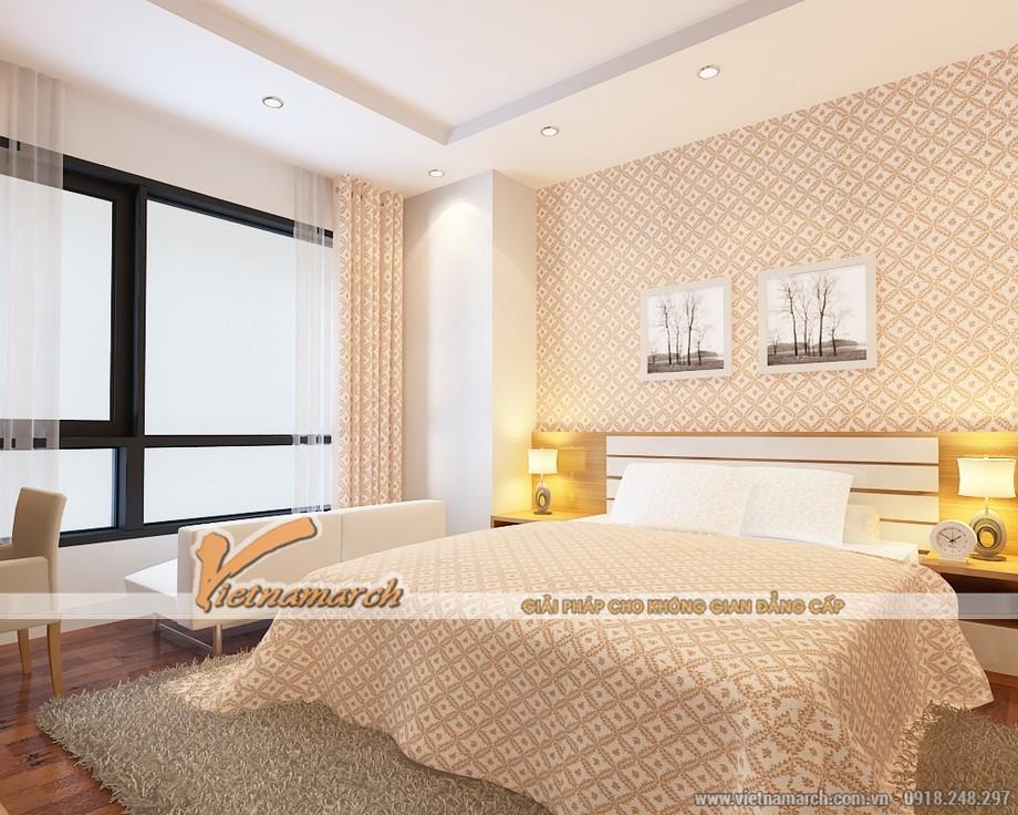 Nội thất phòng ngủ Master - Thiết kế nội thất chung cư Times City