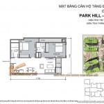 Thiết kế nội thất hiện đại trong căn hộ 17 park 5 chung cư Park Hill