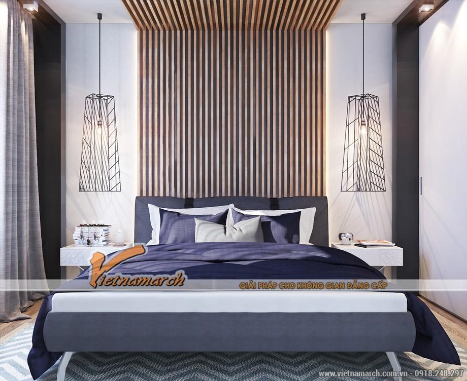Phòng ngủ ấm áp và lãng mạn với tông màu tím