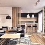 Mẫu thiết kế nội thất đẹp mộc mạc trong căn hộ 82m2 chung cư Times City