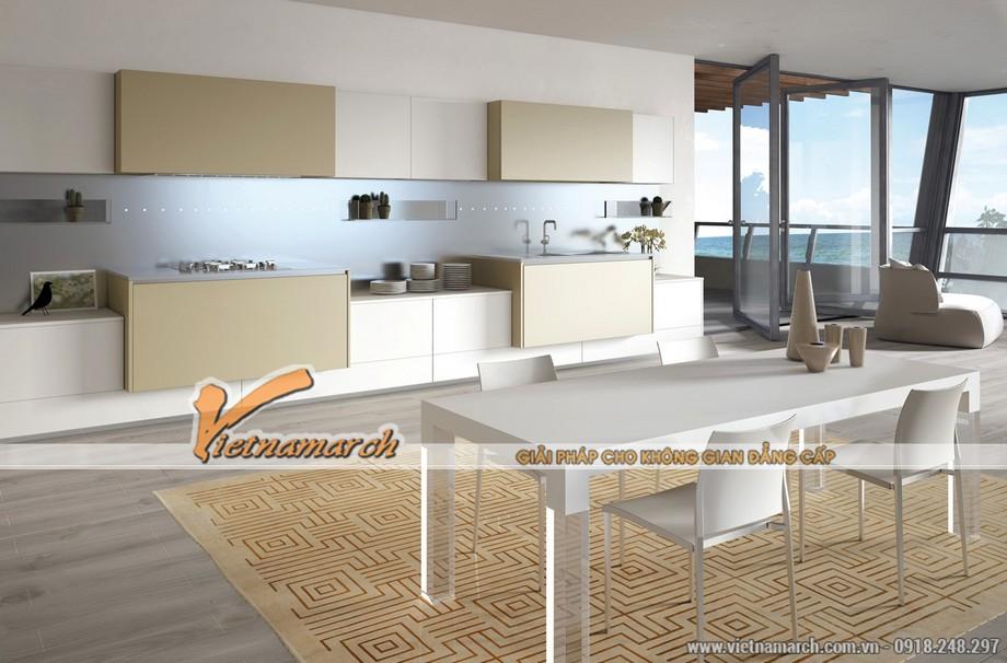 Mẫu thiết kế nội thất nhà bếp số 3