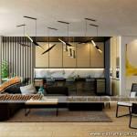 Thiết kế nội thất chung cư Park Hill căn hộ P11-02 từ 2 sang 3 phòng ngủ