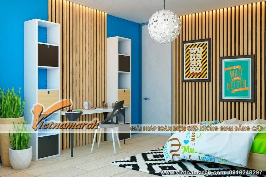 Phòng ngủ được trang trí đẹp mắt - Nội thất căn hộ Park Hill Times City