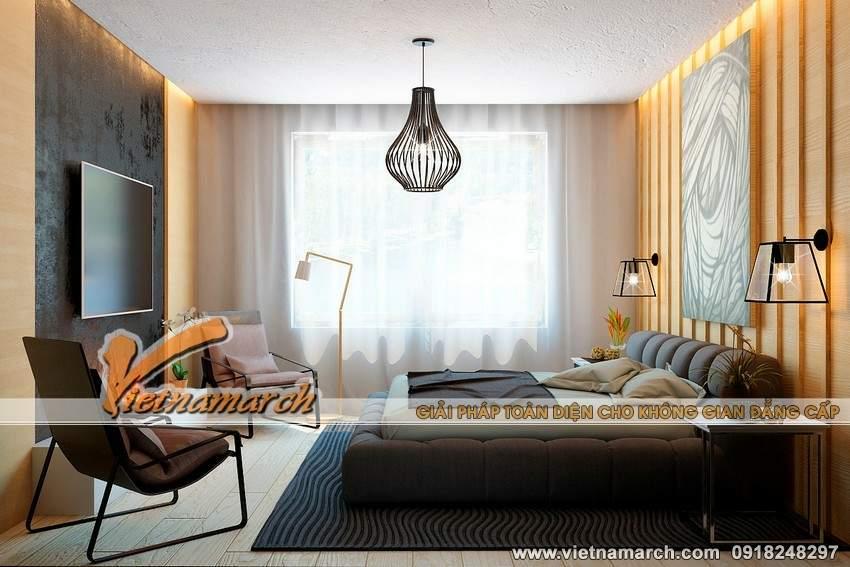 Phòng ngủ hiện đại và tràn ngập ánh sáng - Thiet ke noi that chung cu Park Hill