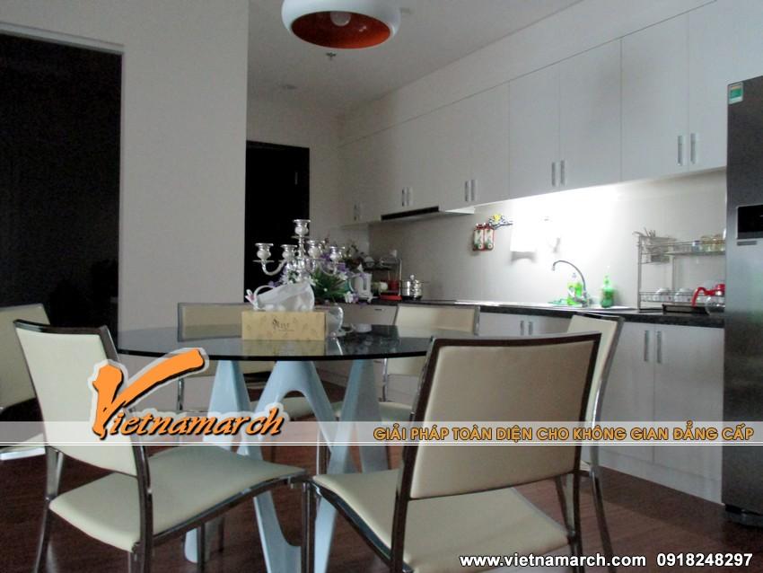 Lựa chọn bàn ăn tròn hiện đại và tiết kiệm không gian cho phòng bếp